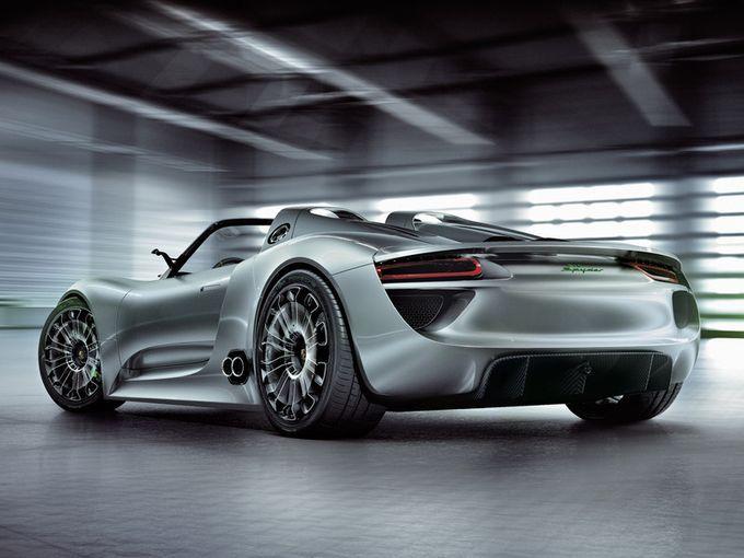 Υβριδικό σούπερ αυτοκίνητο Porsche 918 Spyder
