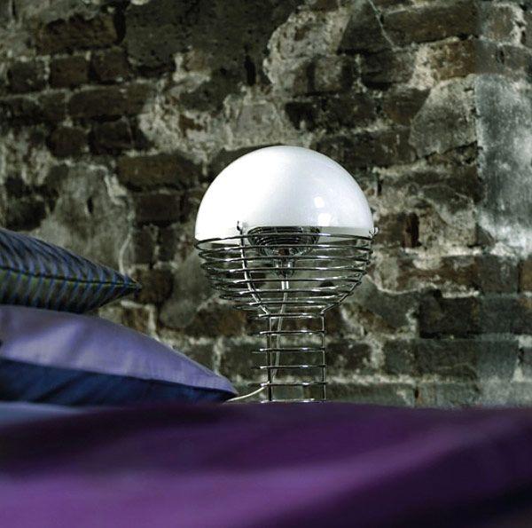 Φωτεινή λάμπα Wire από τον Verner Panton