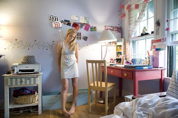 A series of - Girls and their rooms