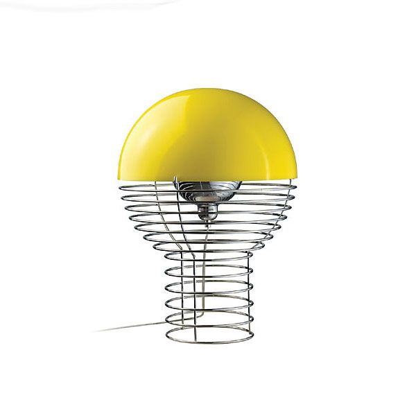 Bright Wire Lamp by Verner Panton