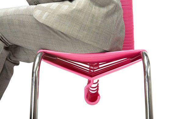 Chair-hanger from Joey Zeledon