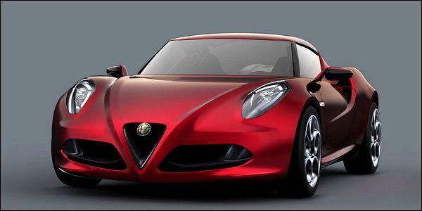 Concept new Alfa Romeo 4C 2012