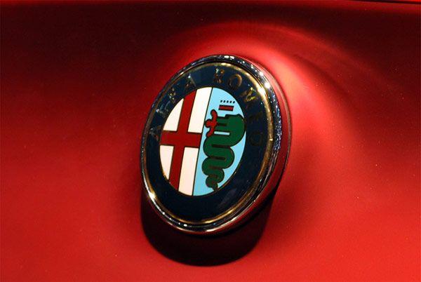 Concept new Alfa Romeo 4C 2012 - Σήμα Αυτοκινήτου