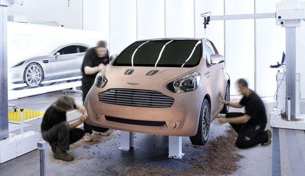Concept new Aston Martin Cygnet 2011