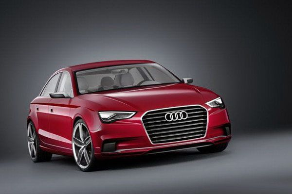 Concept new Audi A3 Notchback