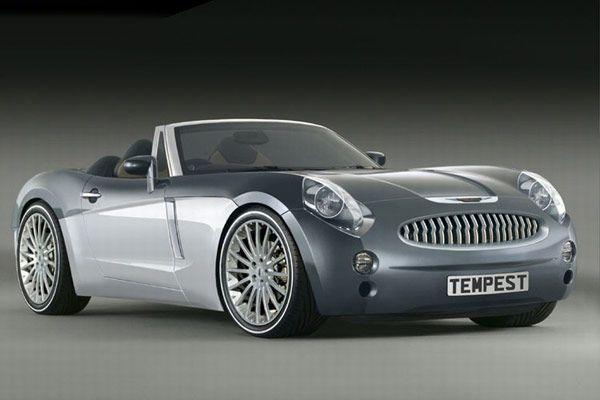 Concept new AUSTIN HEALEY