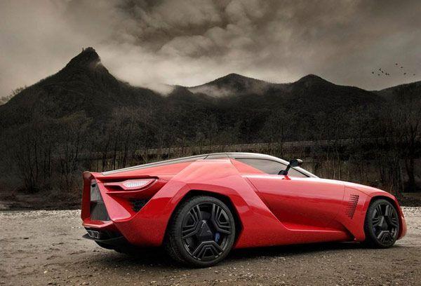 Concept new Bertone Mantide