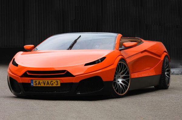 Concept new Savage Rivale Roadyacht GTS