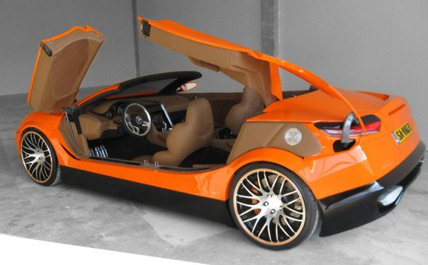 Concept new Savage Rivale Roadyacht GTS - Σαλόνι Αυτοκινήτου