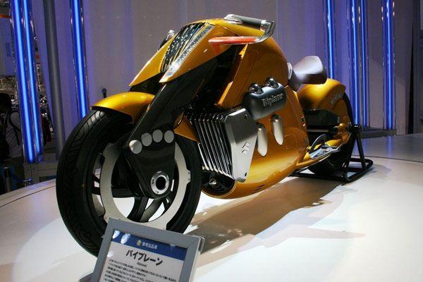 Concept new Suzuki Biplane