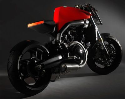 Concept new Voxan Cafe Racer Super Naked
