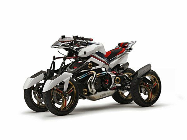Concept new Yamaha Tesseract
