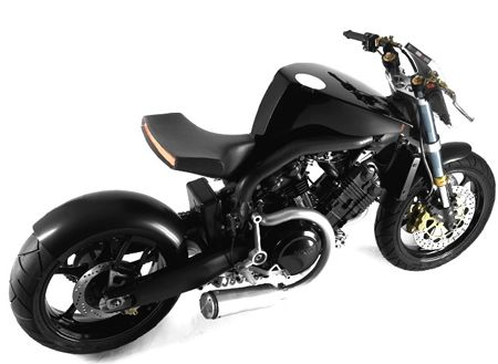 Concept Voxan Cafe Racer Super Naked
