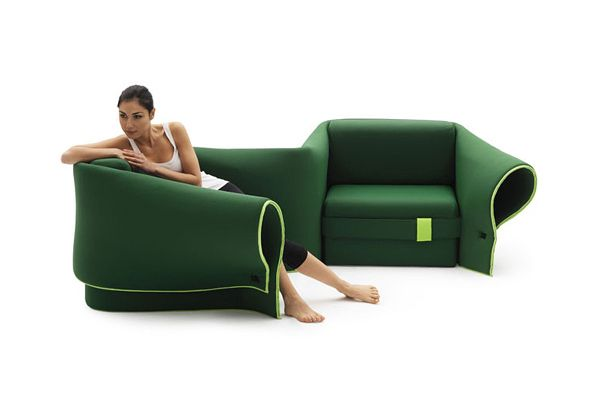 Convertible Sofa Sosia by Campeggi