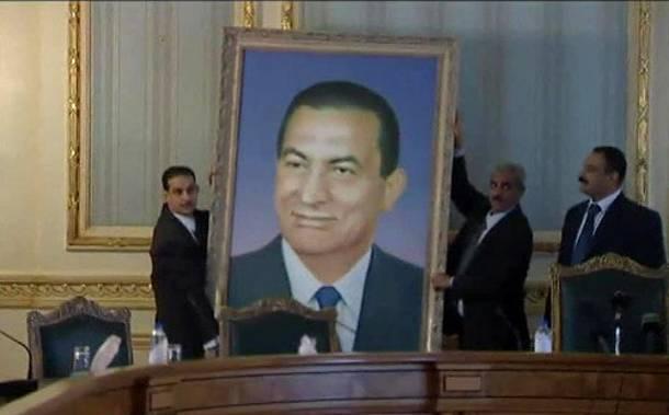 Former Egyptian president appears on TV