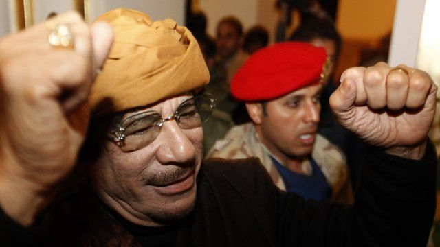 Gaddafi told to stand down and get out of Libya