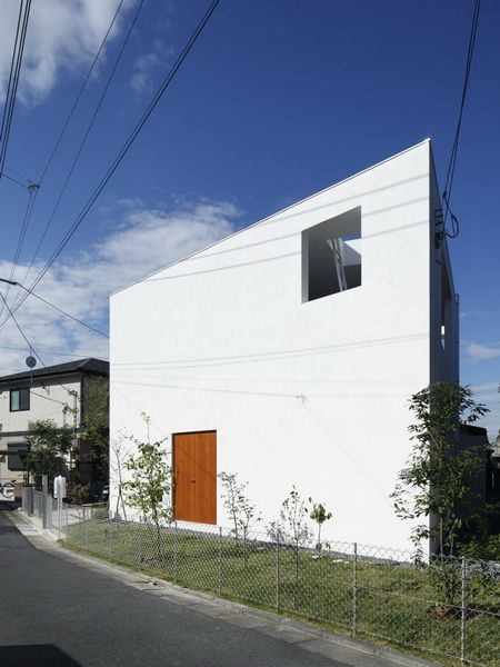 House Inside Out Takeshi Hosaka