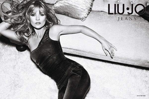 Kate Moss in advertising campaigns - Liu Jo