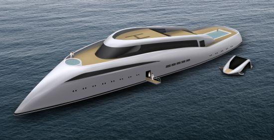 Luxurious and Eco-friendly Superyacht Solar Gem