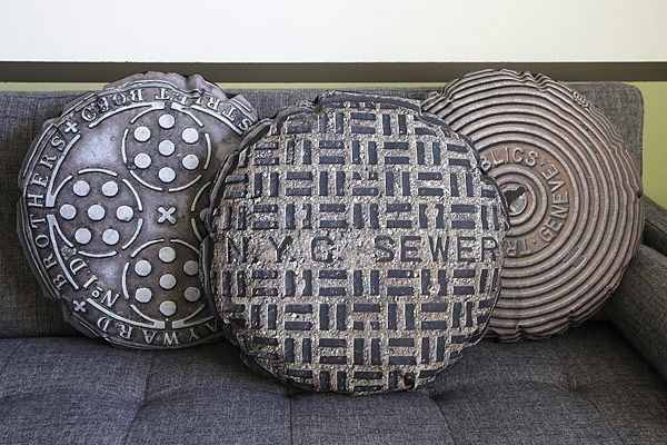 Manhole Covers on Your Couch
