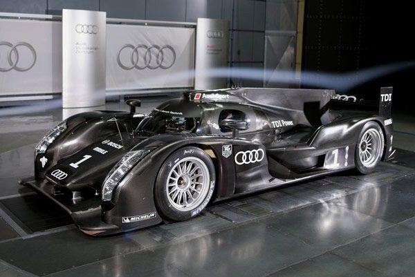New Audi R18 2011