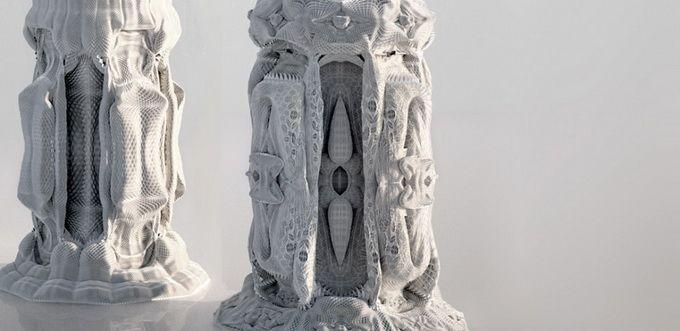 Ornamental columns