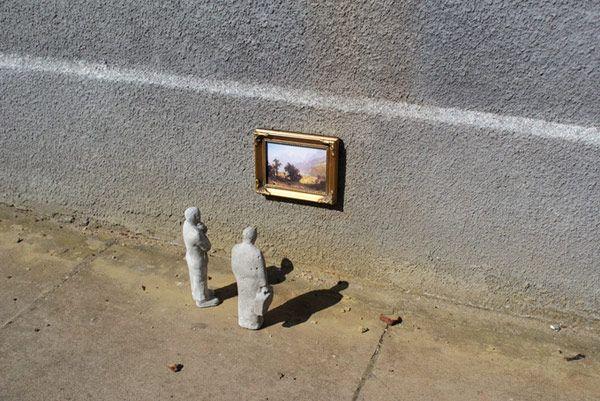 Outdoor Sculpture Isaac Cordal