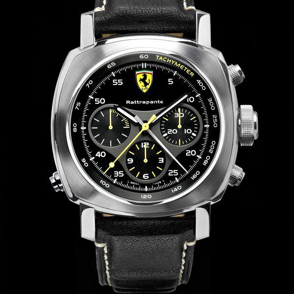 Scuderia Collection  Ferrari Watches by Officine Panerai - Rattrapante