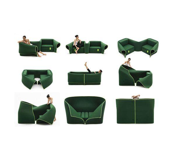 Sosia - Καναπές που μετατρέπεται από τη Campeggi