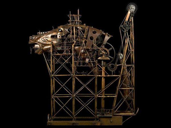 Stunning Steampunk Sculptures by Pierre Matter
