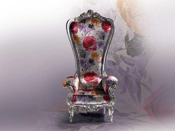 The Throne Armchair by Caspani