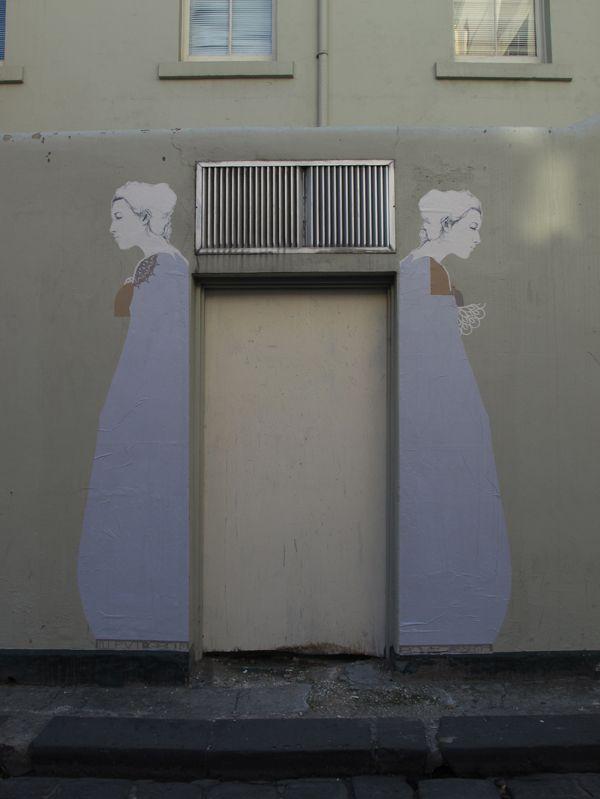Γιαγιά - Τέχνη στο δρόμο