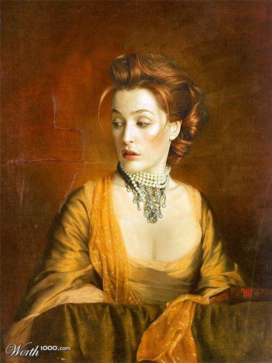 Διασημότητες στην Αναγέννηση - Gillian Anderson