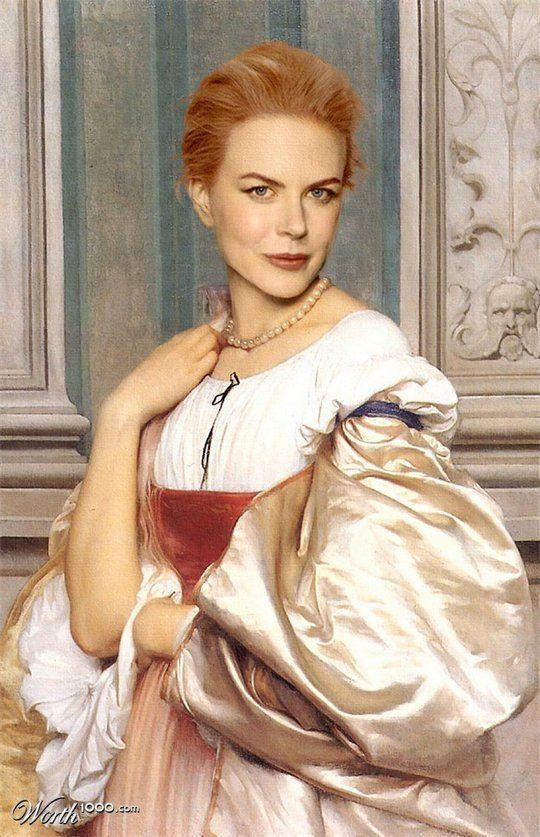 Διασημότητες στην Αναγέννηση - Nicole Kidman