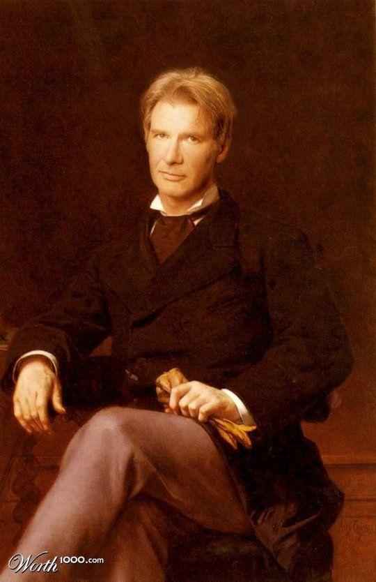 Διασημότητες στην Αναγέννηση - Harrison Ford
