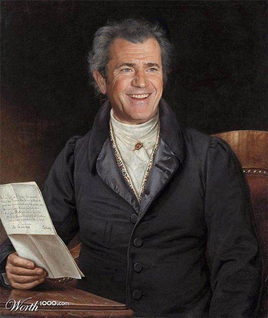 Διασημότητες στην Αναγέννηση - Mel Gibson