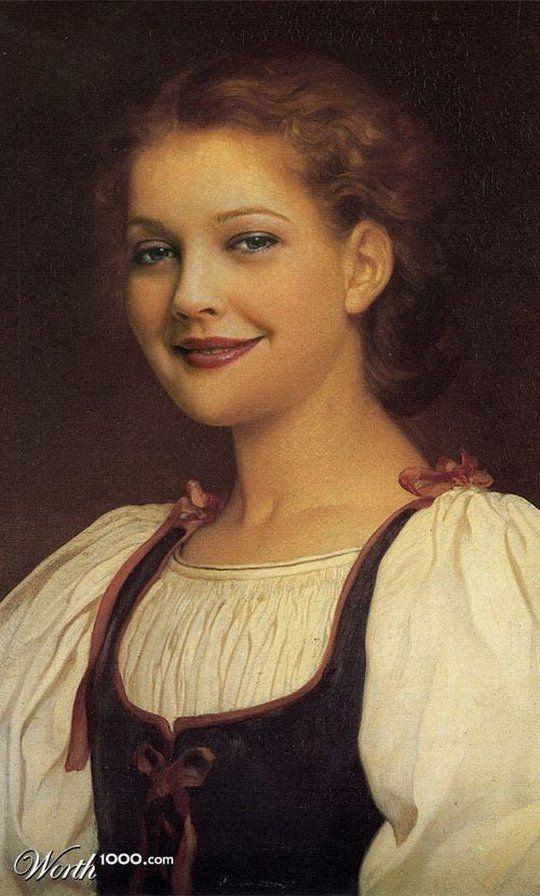 Διασημότητες στην Αναγέννηση - Drew Barrymore