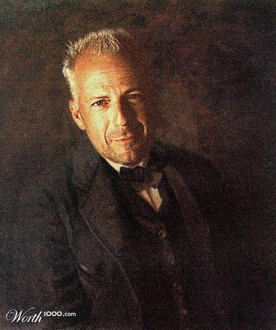 Διασημότητες στην Αναγέννηση - Bruce Willis