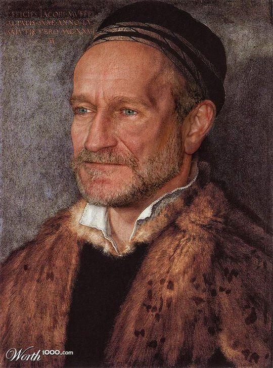 Διασημότητες στην Αναγέννηση - Robin Williams