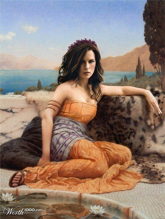 Διασημότητες στην Αναγέννηση - Kate Beckinsale