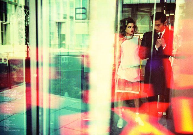 Η Natalia Vodianova στο Vogue της Κίνας