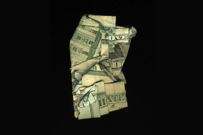 Κολάζ δολαρίων από τον Dan Tague