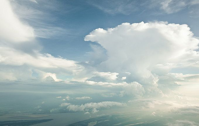 Συλλογή φωτογραφιών από σύννεφα