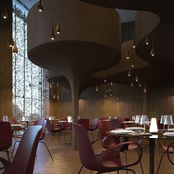 Συναρπαστικό Εστιατόριο Twister από το Makhno Workshop