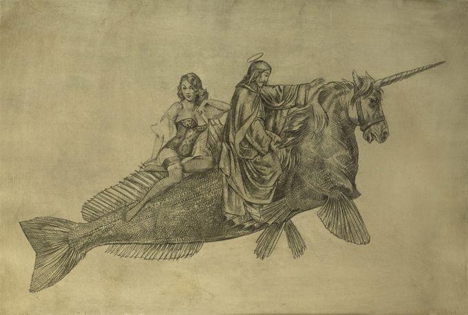 Σύγχρονος καλλιτέχνης Wolfe von Lenkiewicz