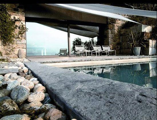 Σύγχρονο πέτρινο σπίτι στην Ιταλία
