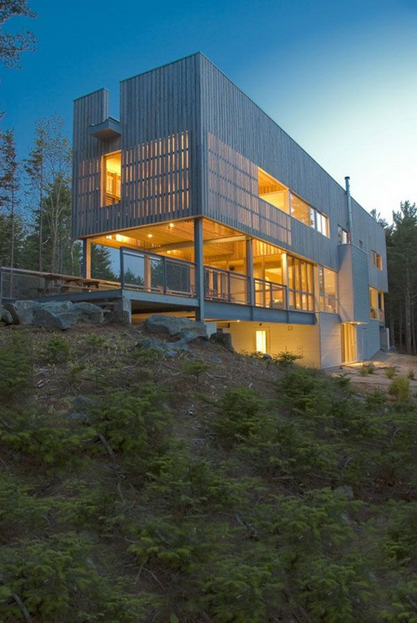 Bridge House in Canada