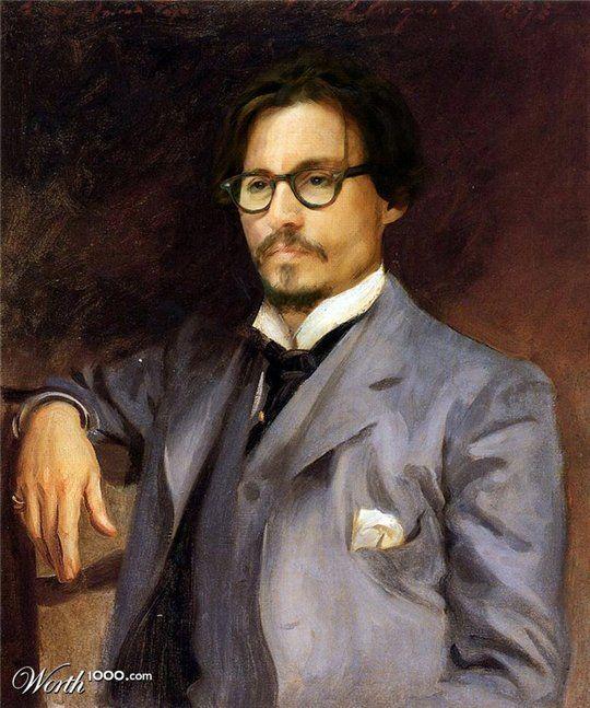 Celebrities in the Renaissance - Johnny Depp