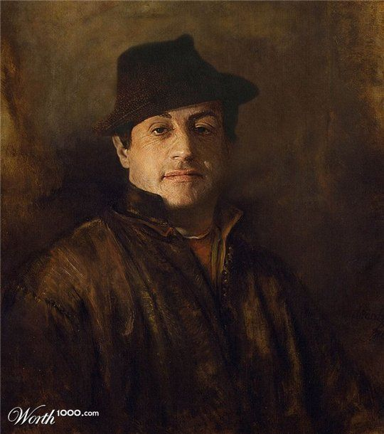 Celebrities in the Renaissance - Sylvester Stallone