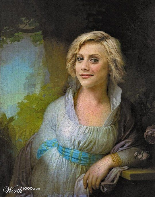 Celebrities in the Renaissance - Brittany Murphy